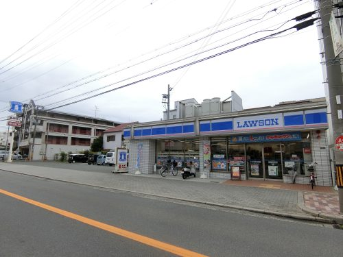ローソン 東淀川瑞光店・400m・徒歩5分・ちょっとしたお買い物に便利♪(周辺)