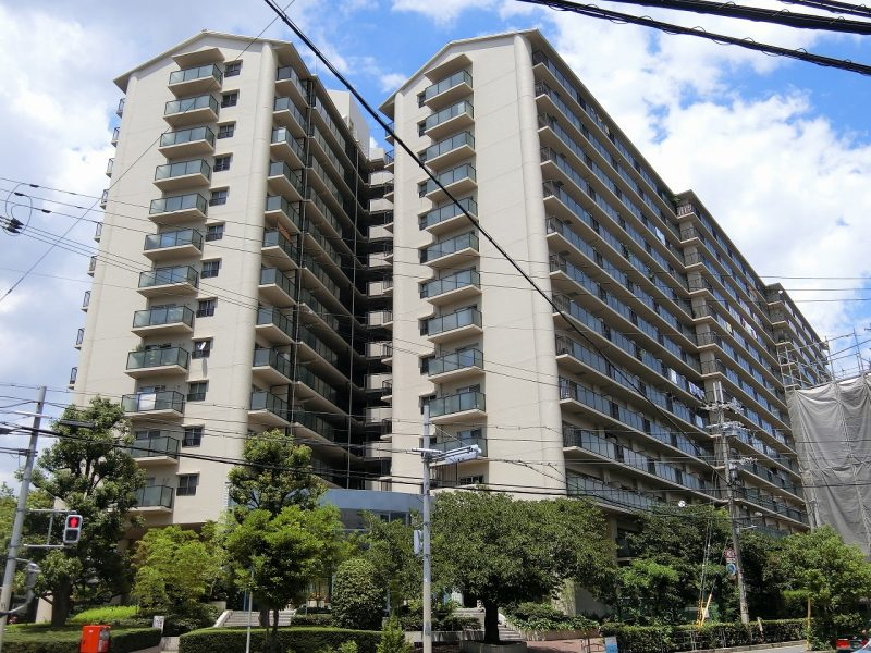 14階建てマンション♪(外観)