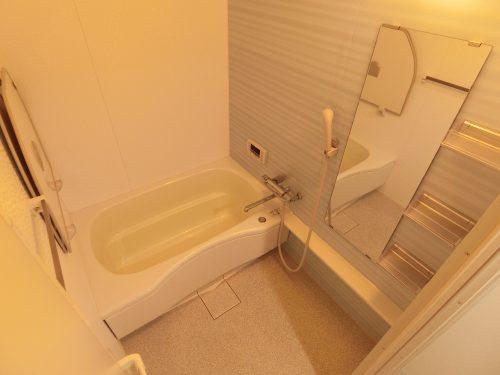 1日の疲れを癒す落ち着いた雰囲気の浴室♪(風呂)